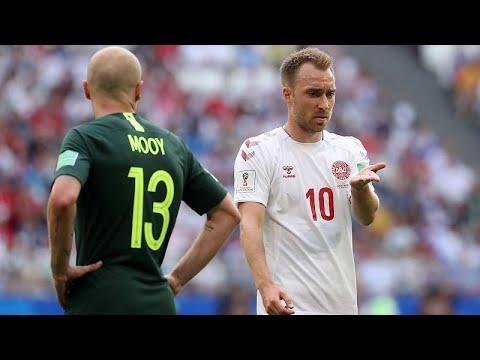 Dinamarca e Austrália empatam e deixam futuro em aberto
