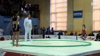 Puchar Polski w Sumo - Woman Junior 60 kg - 2014.02.16 Krotoszyn