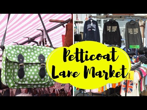 Petticoat Lane Market, Spitalfields | London Shopping | Visit London | Travel Blog | Reise