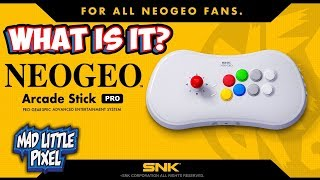 Neo Geo Arcade Stick Pro Officially Announced! New SNK Hardware, What Is It?