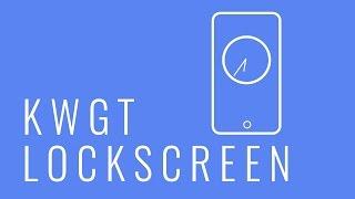 KWGT Tutorial: KWGT on Lockscreen