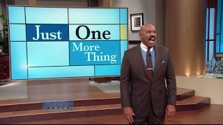 Steve and Marjorie's Biggest Argument || STEVE HARVEY