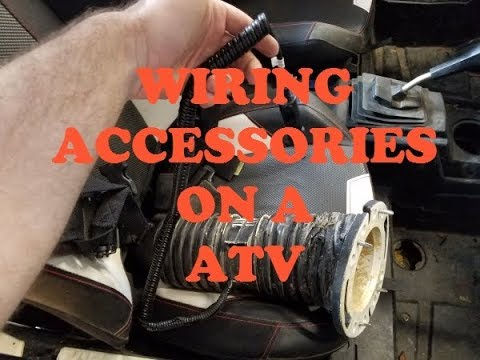 Wiring accessories on a Polaris RZR - YouTube on rzr 170 wiring diagram, rzr 900 engine diagram, polaris ranger 900 wiring diagram, rzr 800 wiring diagram,