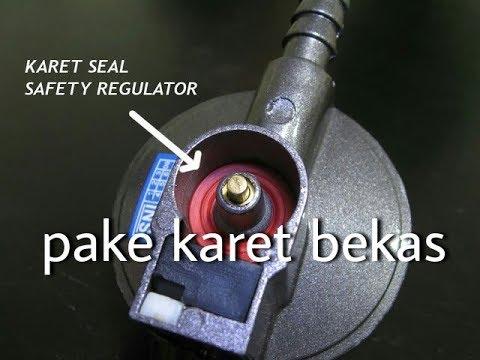 Cara mengatasi regulator gas bocor