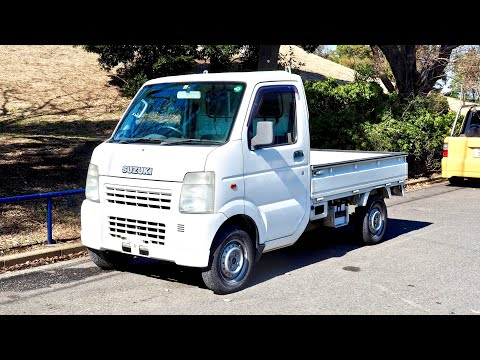 2002 Suzuki Carry Kei Truck (Canada Import) Japan Auction Purchase Review