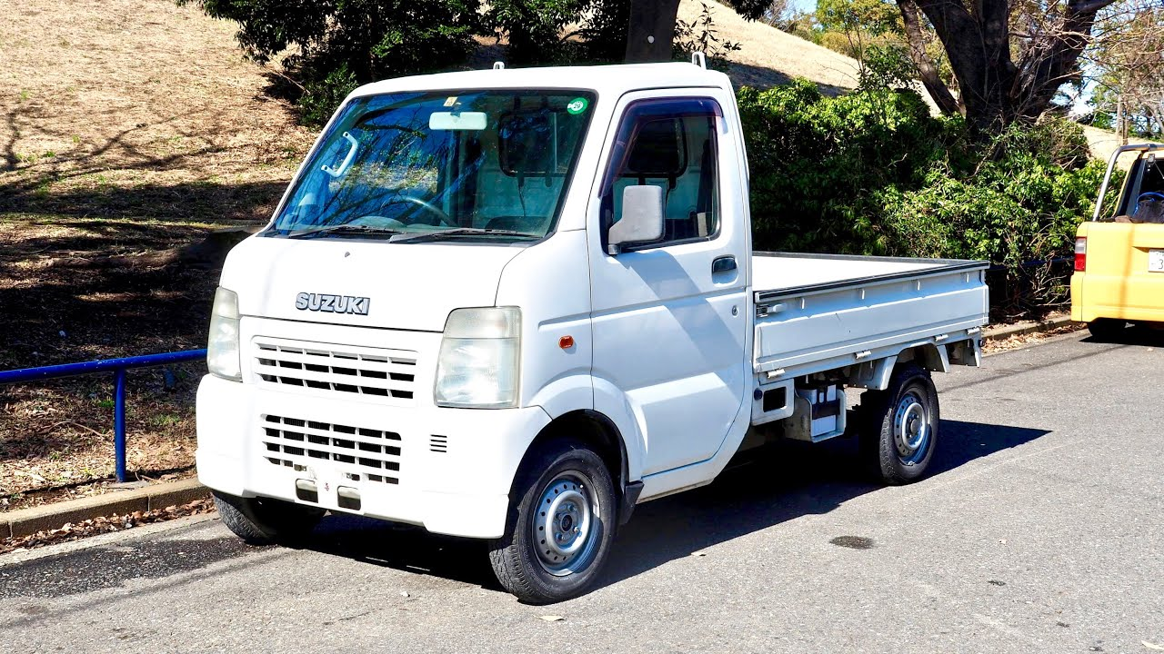 93e61ce47b 2002 Suzuki Carry Kei Truck (Canada Import) Japan Auction Purchase Review