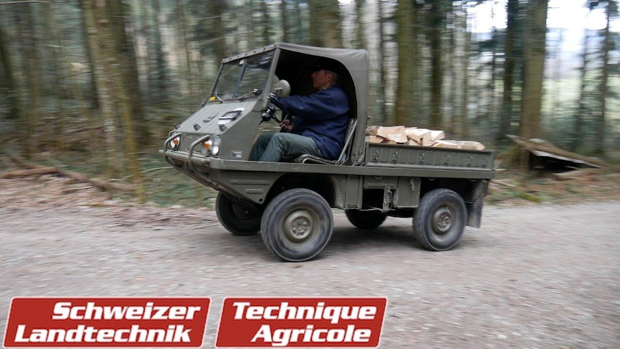 «Haflinger»: Ein kultiger Klein-Geländelastwagen