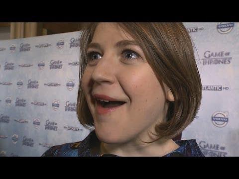 Gemma Whelan (Yara Greyjoy) Interview - Game of Thrones Season 4 Premiere