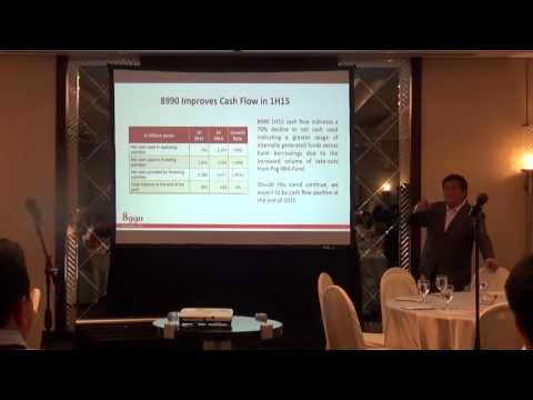 PSE Brokers and Analysts' Briefing For $HOUSE 1H15