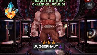 Drawing 43 Duplicate Champions and 3-Star Juggernaut | Marvel Contest of Champions