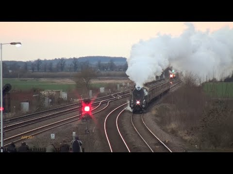 UK - Scot and South Africa share the Yuletide Express, 16/12/2017