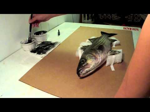 Fish Prints With Rob Choi
