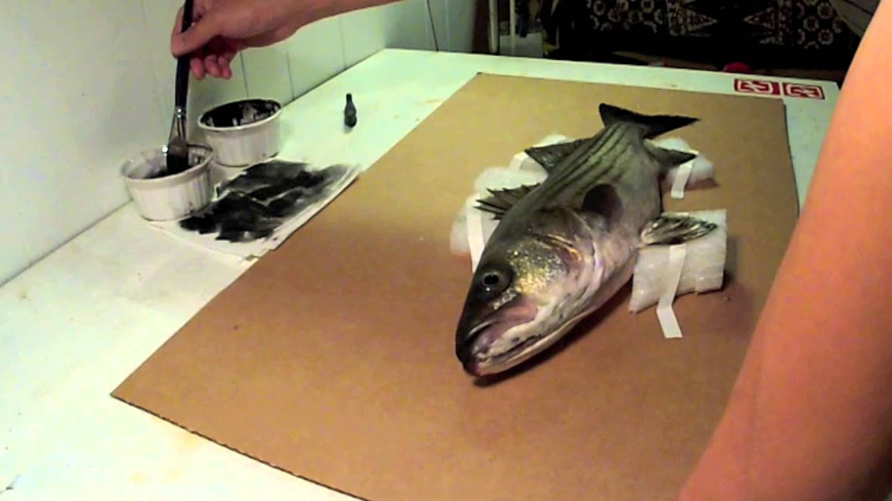 Fish prints with rob choi youtube for Big fish printing