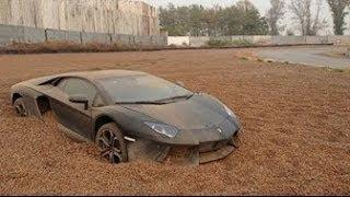 10 super coches abandonados en dubai
