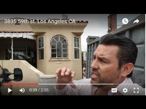 3835 59th st. Los Angeles CA Flip Investment by  InvestNotic
