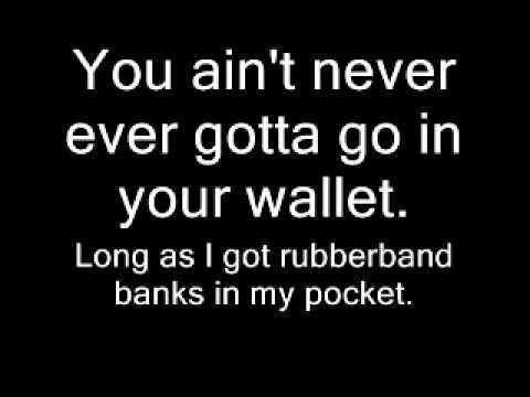 T i whatever You like Dirty Lyrics on screen