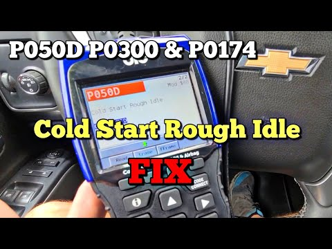 DIY FIX! GMC / CHEVY P050D Cold Start Misfire Check Engine Light 5.3l Silverado P0300 p0174 14-19