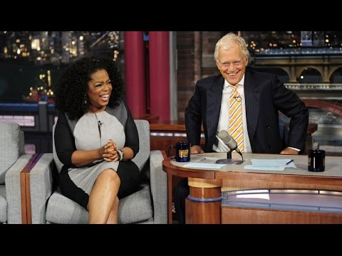Oprah and David Letterman talk Transcendental Meditation