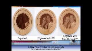 Photo Engraving 101 - Video #5: Using PhotoGrav