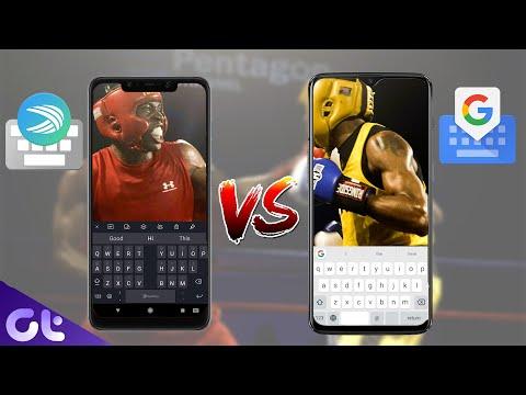 SwiftKey Vs Gboard | Which Is Best Keyboard App For You | Guiding Tech