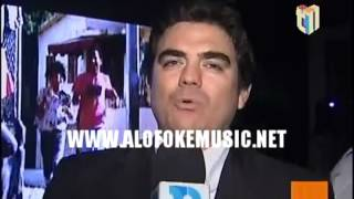 Mozart La Para & Joa El Super MC en la Rueda de Prensa de Kola Real