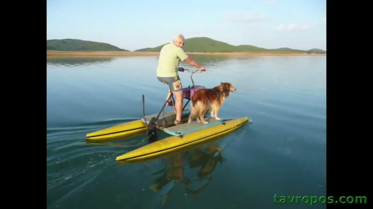 Λιμνη Πλαστηρα Υδροποδηλατο στην Λιμνη tavropos.com