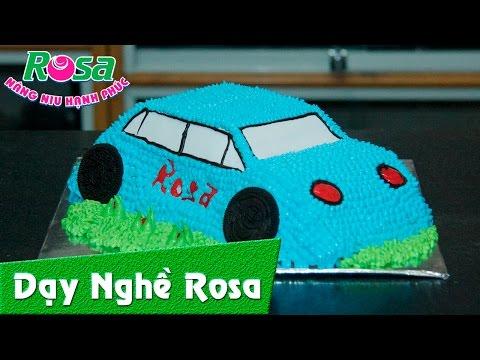 Bánh kem sinh nhật mẫu xe hơi 3D cực ngầu