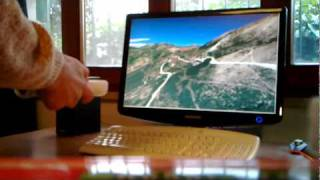 Flying with Wiimote - Using AHRS to fly on OpenSceneGraph 3D Terrain