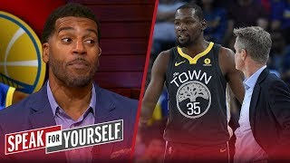 Jim Jackson likes KD not blaming Warriors for playing in NBA Finals | NBA | SPEAK FOR YOURSELF