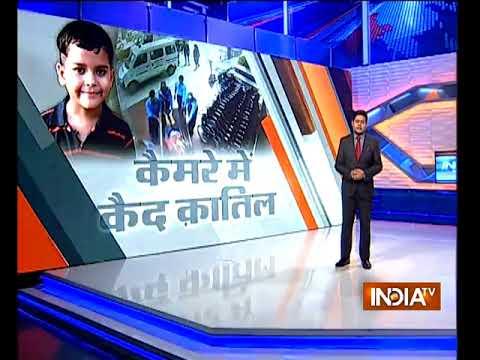 Caught on CCTV: 7-year-old Ryan International School boy tried to crawl out of bathroom