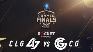 CLG vs CG | 3rd Place Game 2 | LCS Summer Split | Counter Logic Gaming vs. Clutch Gaming (2019)