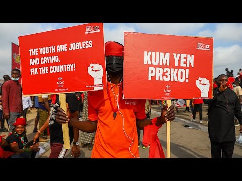 Ghana: Opposition youth activists rally against federal police force