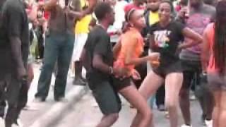 Rihanna dancing Soca dance