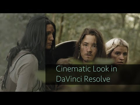 How to achieve a Cinematic Look in DaVinci Resolve (full tutorial)