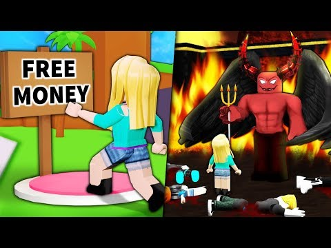 """I used Roblox ADMIN to trick noobs with """"FREE ROBUX"""""""