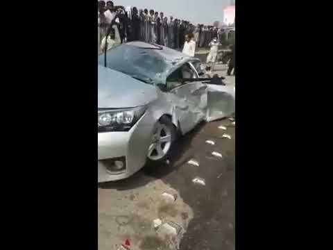 New Toyota Corolla 2017 very bad Accident in Islamabad Pakistan