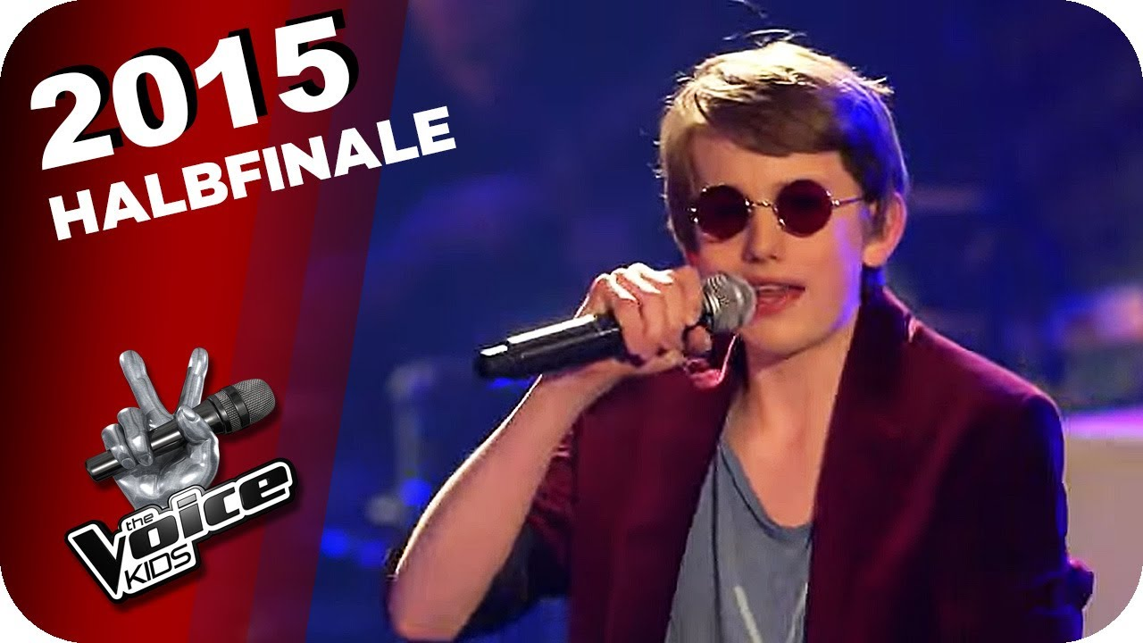 Bruno Mars - Uptown Funk (Tilman)   The Voice Kids 2015   Halbfinale   SAT.1