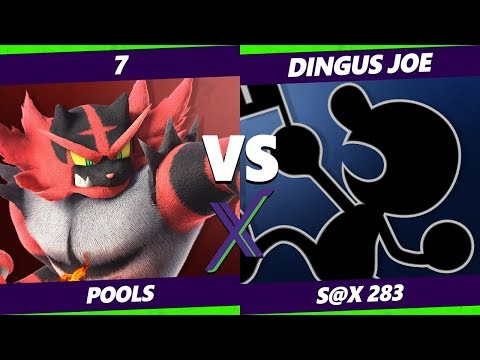 Smash Ultimate Tournament - 7 (Incineroar) Vs. Dingus Joe (Game and Watch) S@X 283 SSBU Pool 4 - WQF