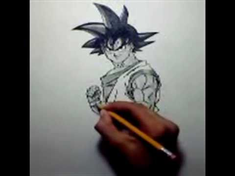 How To Draw Goku Normal