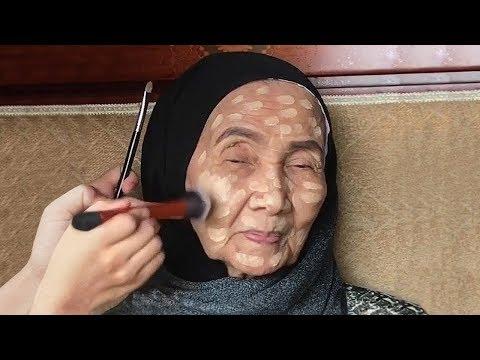 Вы Не Поверите, Как Изменилась 93-летняя Женщина После Нанесения Макияжа