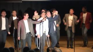The Binghamton Crosbys: Me and Julio Down By the Schoolyard --A Cappella For the Fellas 2014