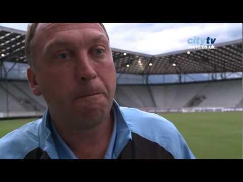 City v Dresden: David Platt post match interview
