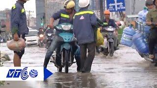 Lầy lội trên con đường ngập dù trời không mưa | VTC