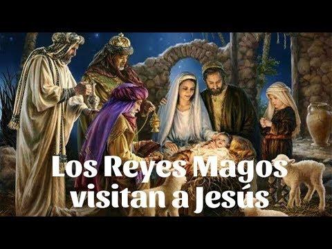 Los Reyes Magos visitan a Jesús - Cuento de Navidad
