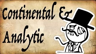 Continental Vs Analytic Philosophy - Gentleman Thinker