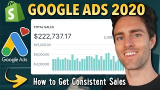 How I get Consistent Profitable Sales every day with Google Ads in 2020 | Shopify Dropshipping