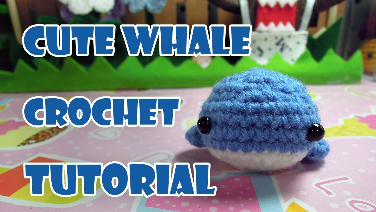 Baby Humpback Crochet Whale Free Pattern - One Dog Woof | 720x1280