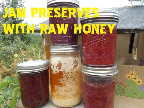 Easy Cherry Jam Recipe With Raw Honey!