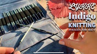 ОБЗОР КРУГОВЫХ СПИЦ: НАБОР LYKKE INDIGO / REVIEW: CIRCULAR KNITTING NEEDLES LYKKE INDIGO