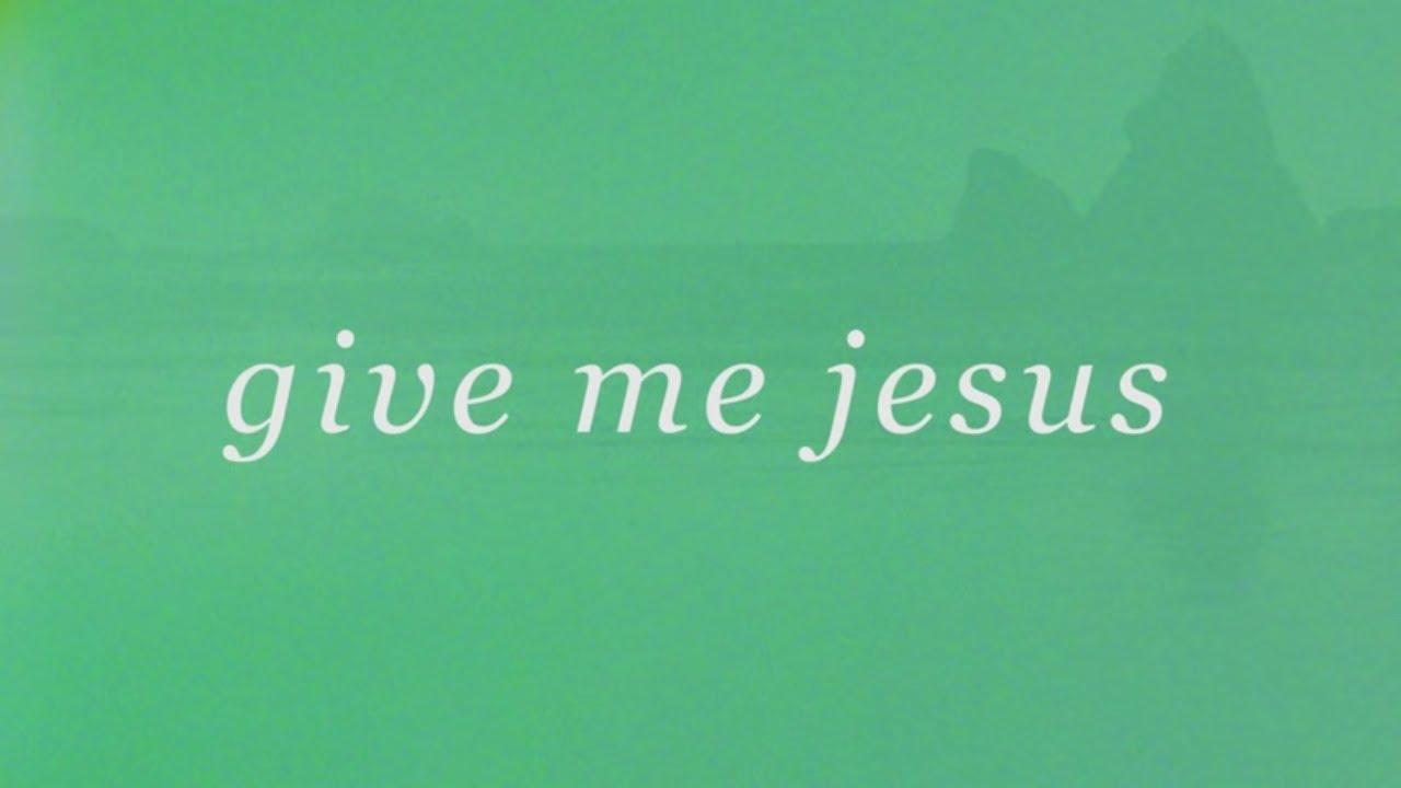 Download Give Me Jesus (Official Lyric Video) - Matt Stinton | Tides